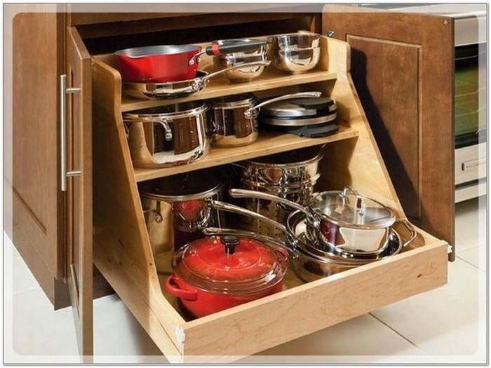 Kitchen Cabinet Storage Ideas For Pots And Pans P Wall Decal