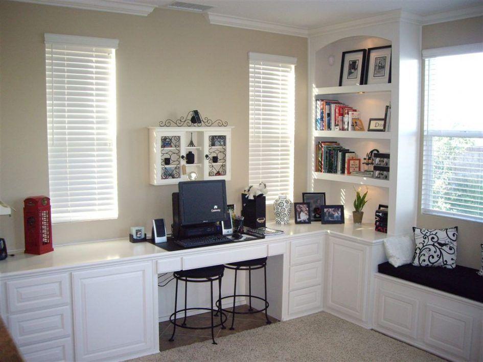 Furniture, Diy Custom Built In Bookshelves With Window ...