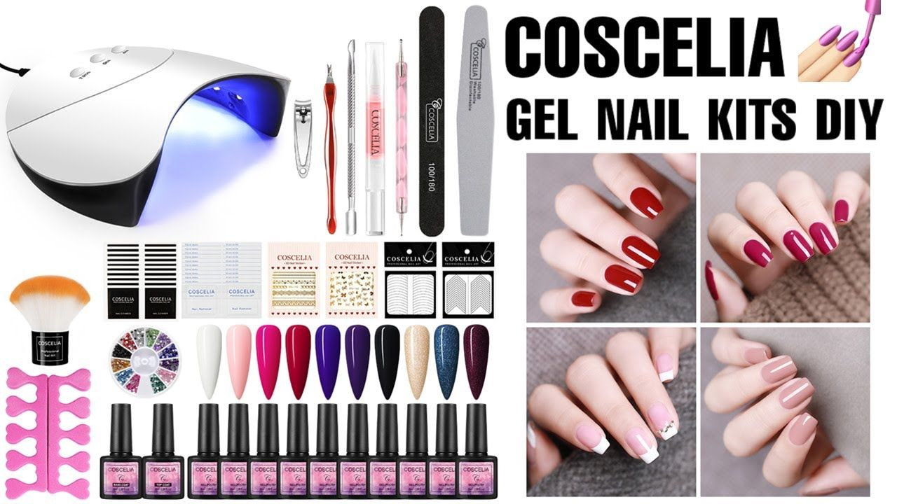 How To Do Your Own Gel Nails From Home Quick And Easy Gel Nail Kits Diy