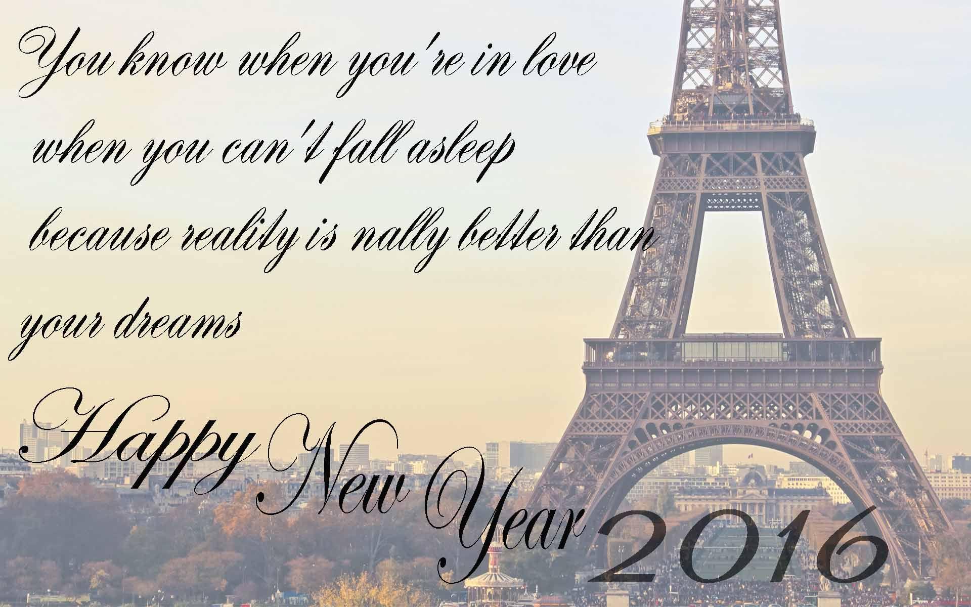 Happy New Year 2016 Love Wallpaper