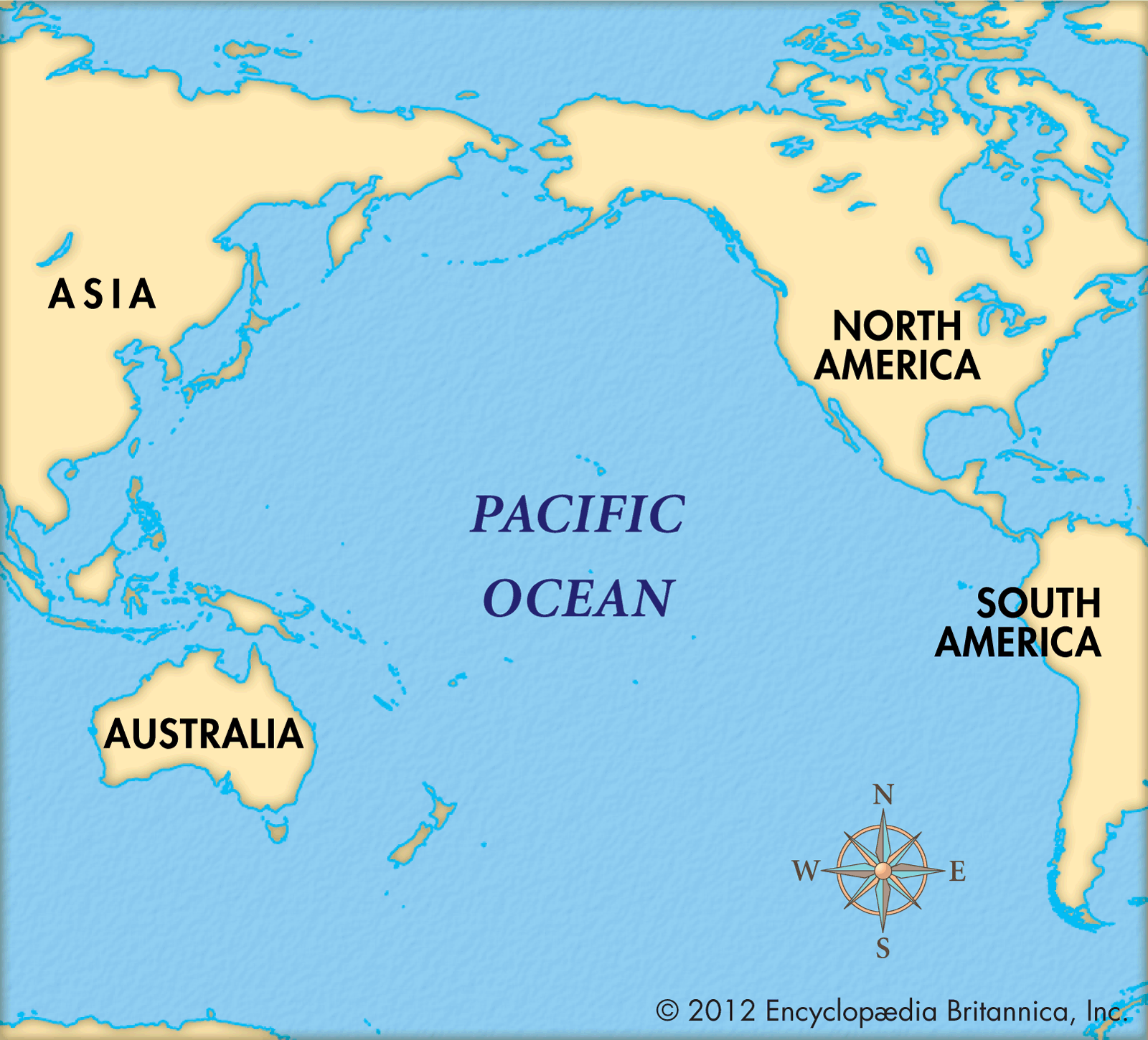 Map Pacific Ocean map of pacific ocean islands   Yahoo Image Search results | JESUS