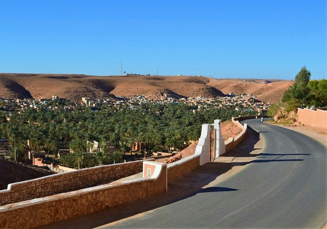 Ghardaia Algeria Desert Algerien Villa Ecologie