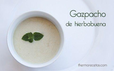 Gazpacho de hierbabuena