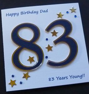 60th Birthday Homemade Cards
