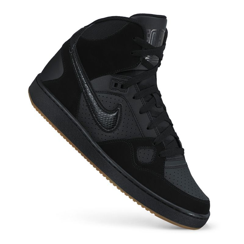 Nike Son of Force Men\u0027s Mid-Top Basketball Shoes (Black)
