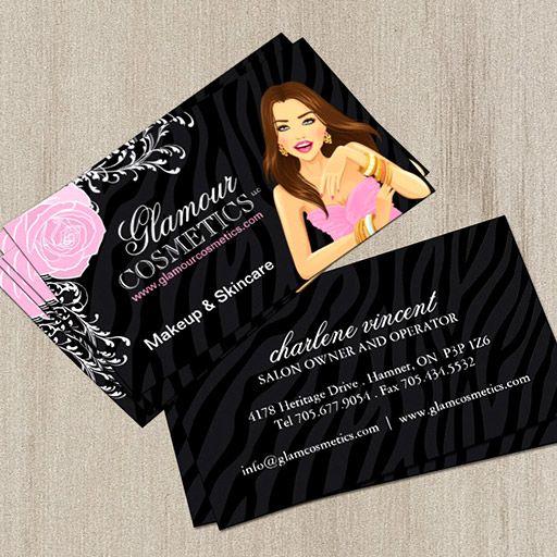 beauty advisor business cards  beauty advisor cosmetic