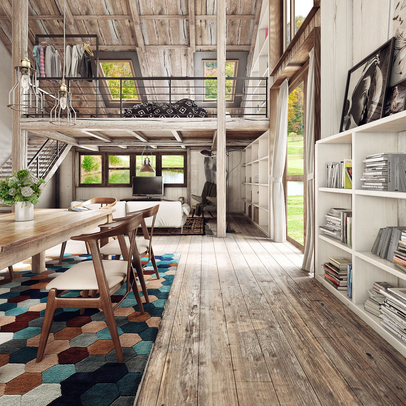 Cozy Little Wooden House With A Vintage Touch You Ll Love Wood House Design House Design Loft House