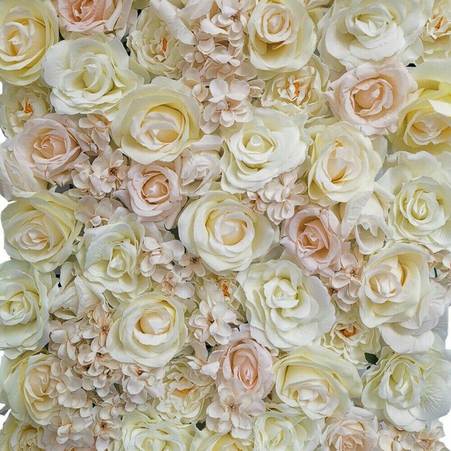 60x40 Artificial Rose Hydrangea Flower Wall Panel Wedding Venue Decoration Bulk Ad Affiliate Flower Wall Wedding Wedding Venue Decorations Venue Decoration