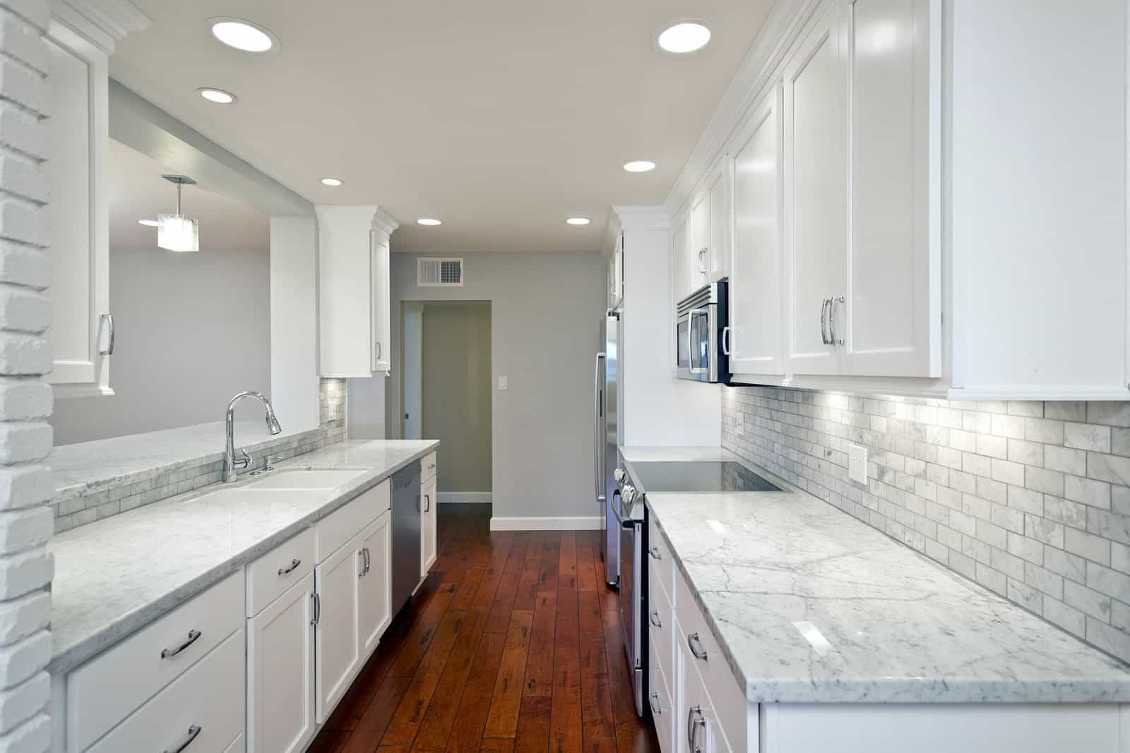 Ceiling Recessed Lighting Ing In 2019 Galley Kitchen