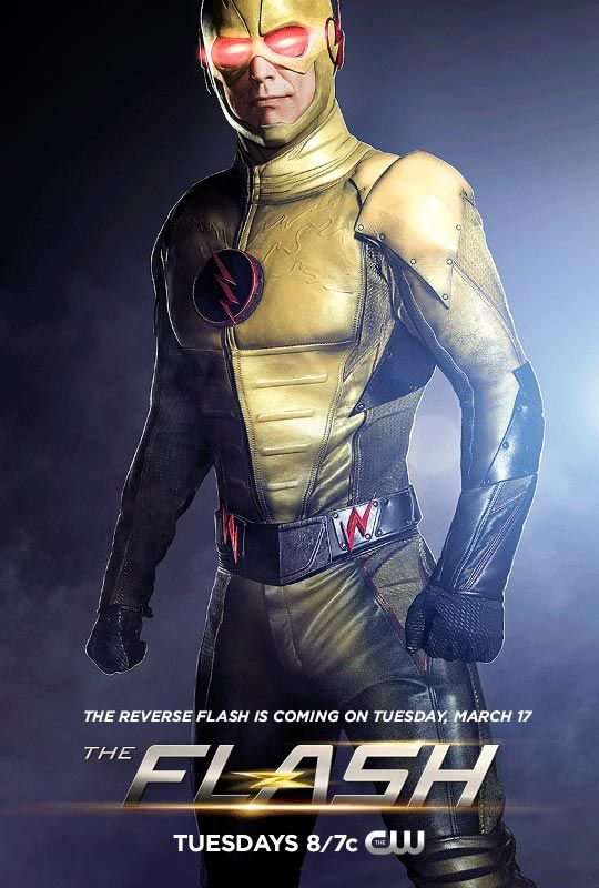 Tom Cavanagh as the REVERSE FLASH<br />