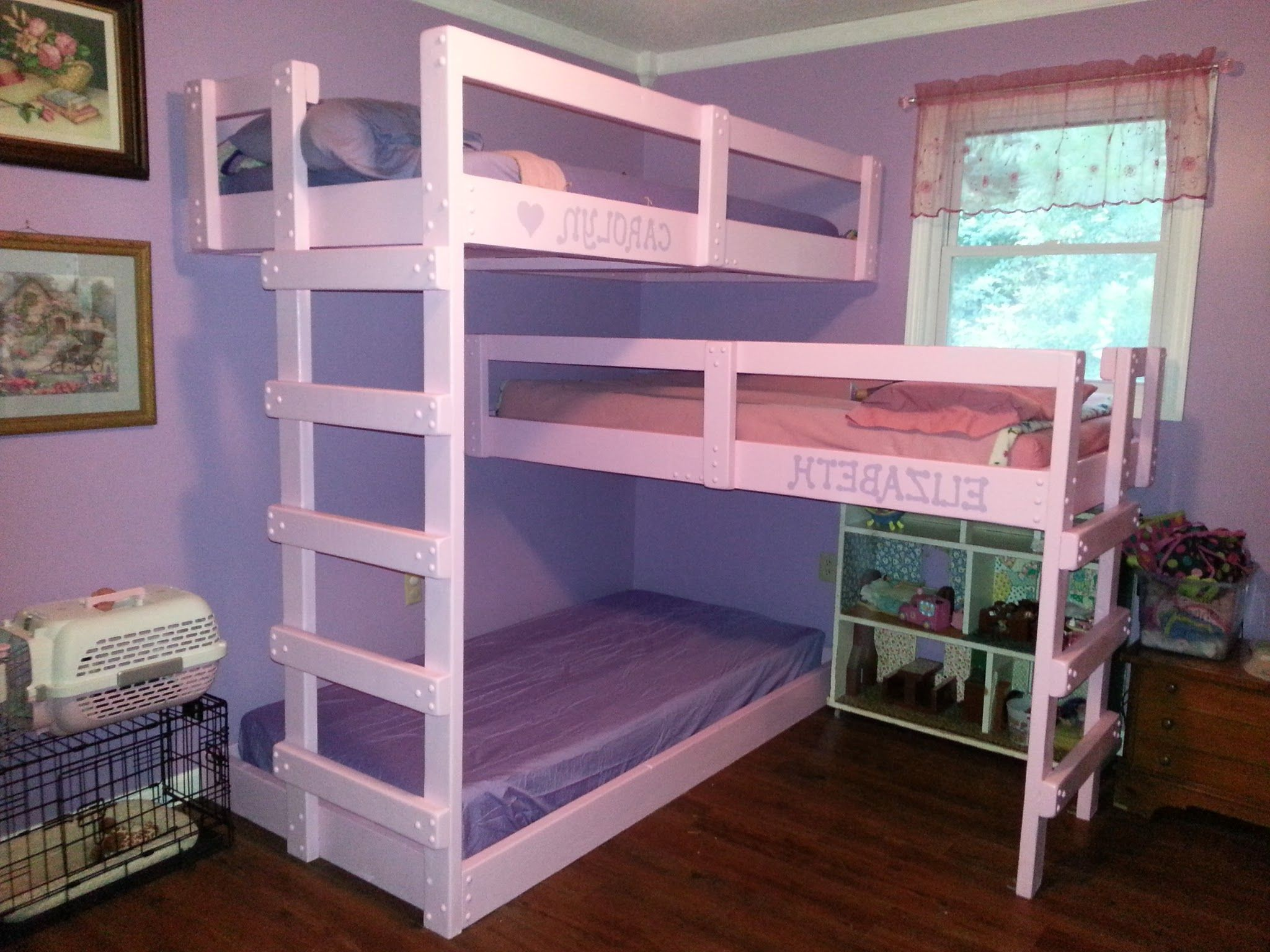 Bedroom , Smart Beds for Small Bedrooms Ideas : Triple ...