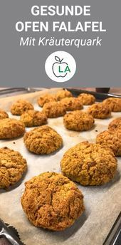 Photo of Healthy oven falafel with herb curd fitnes