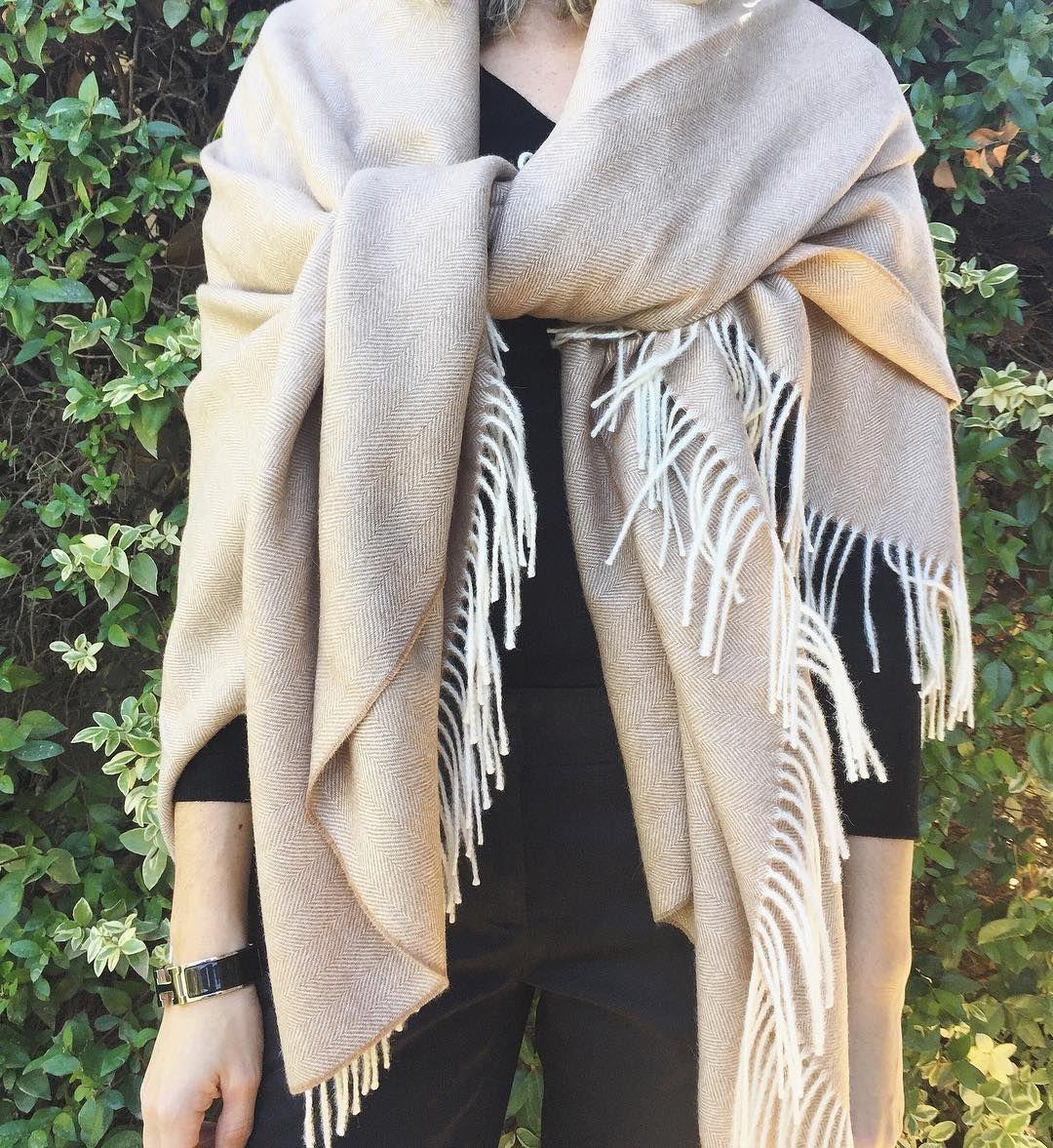 810e01873 Herringbone Baby Alpaca Throw Blanket in 2018