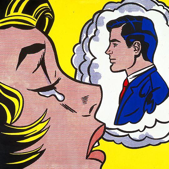 The Roy Lichtenstein Foundation Pop Art Comic Roy Lichtenstein Art Lichtenstein Pop Art