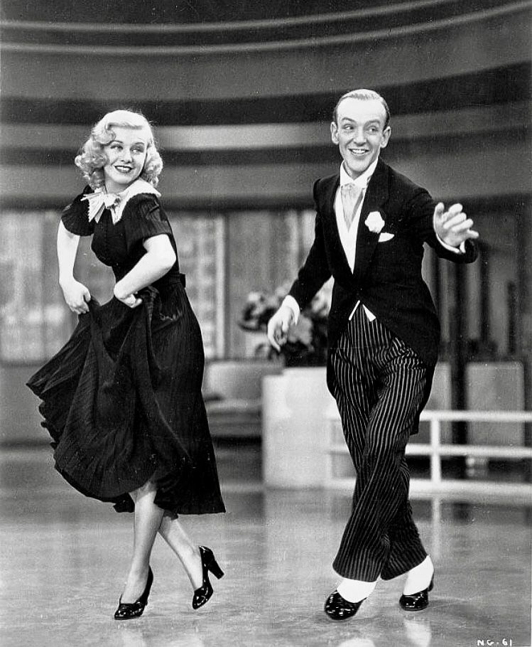 Ginger Rogers Fred Astaire Swing Time 1936 Danza Y Baile Bailar Tap Celebracion