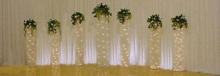 Google All Elegant Backdrops: How To Make Your Own Lighted Netting Backdrop
