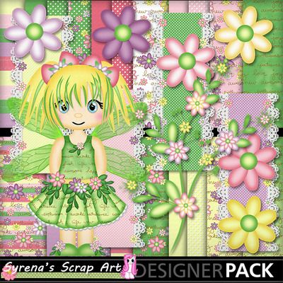 Some new Fairies have arrived! Fairy Bell #Digital Scrapbook Kit http://www.mymemories.com/store/display_product_page?id=SESA-CP-1407-63998&r=syrenasscrapart