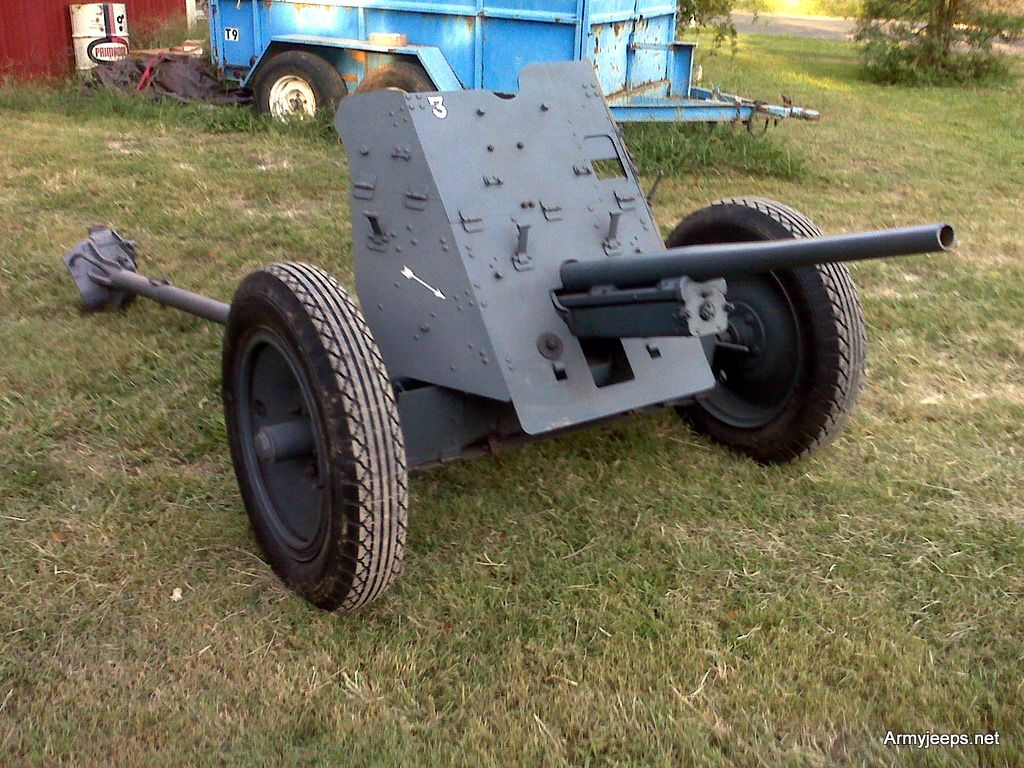 German 50 Mm Anti Tank Gun: For Sale: Original Pak 35/36 German WWII 37mm Anti Tank