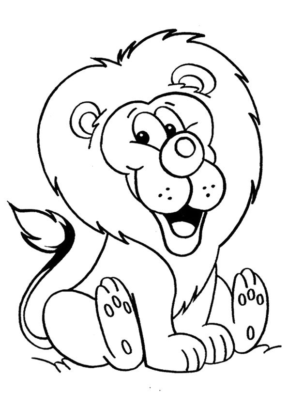 Print Coloring Image Momjunction Animal Coloring Pages Cute