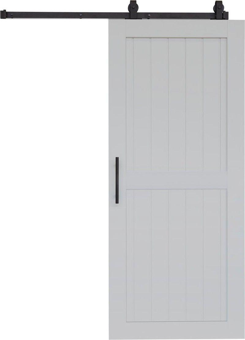 """Photo of Barndoor model """"COTTAGE"""" – 800 x 2000 mm – Light gray – Door,  #Barndoor #door"""
