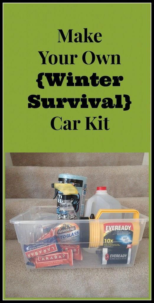 Make Your Own Winter Survival Car Kit - Two Kids and a Map #wintersurvivalsupplies Make Your Own Winter Survival Car Kit - Two Kids and a Map #wintersurvivalsupplies