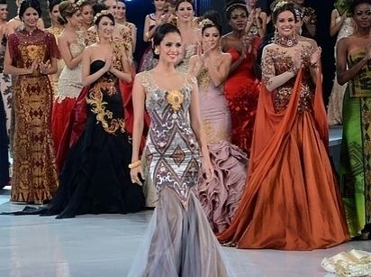 37 Over The Top Evening Gowns From 2013 Miss World Fashion Show