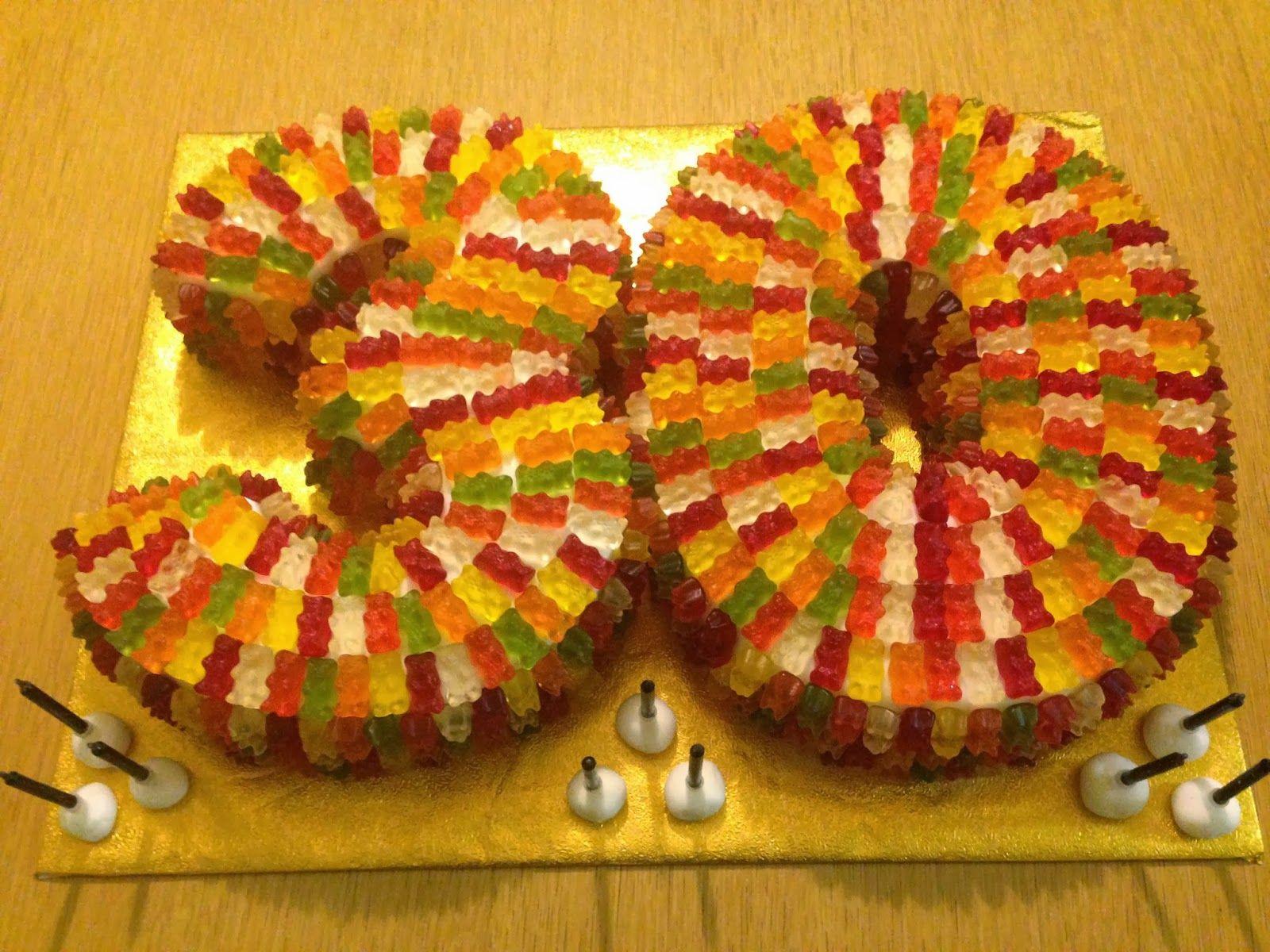 Haribo Birthday Cake Ideas