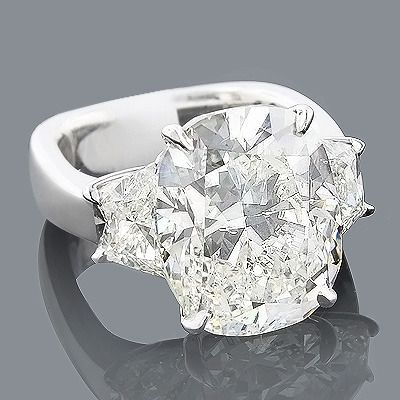 Platinum Engagement Rings This Expensive Diamond Ring Showcases A Magnificent 10 05 Carat Gia