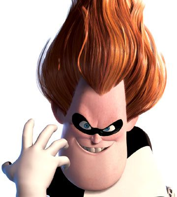 Steven As A Movie Character The Incredibles Syndrome The Incredibles Famous Villains