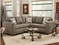 Surprising Blake Onyx 2 Piece Sectional Sectionals Living Rooms Machost Co Dining Chair Design Ideas Machostcouk