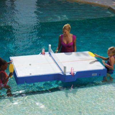 Floating Ping Pong Table Lake House Lake Water Fun Pinterest Ping Pong Table Hot