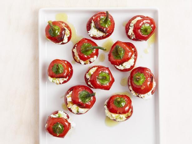 Stuffed Mini Peppers | Recipe | Stuffed peppers, Food ...