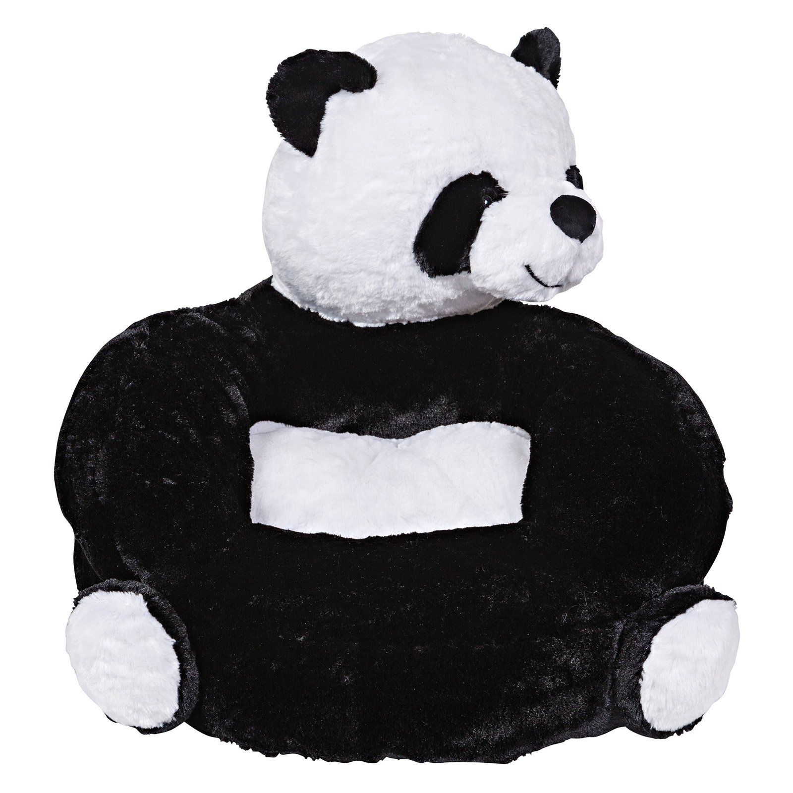 Stupendous Childrens Plush Panda Character Chair By Trend Lab Gmtry Best Dining Table And Chair Ideas Images Gmtryco