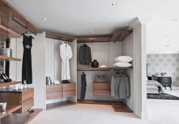Un coin dressing moderne pour votre maison Modern wardrobe designs