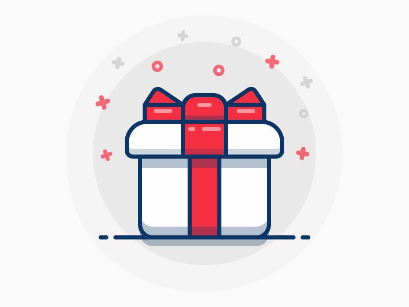 Gift Box Gift Logo Gift Box Design Box Icon