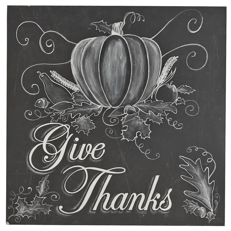 Give Thanks Chalk Art Chalkboard Art Thanksgiving Chalkboard Chalk Art