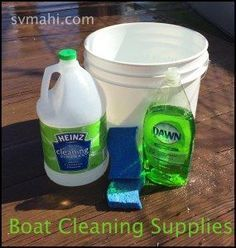 Getting rid of boat smells -- a step by step solution to getting rid of 95% of them