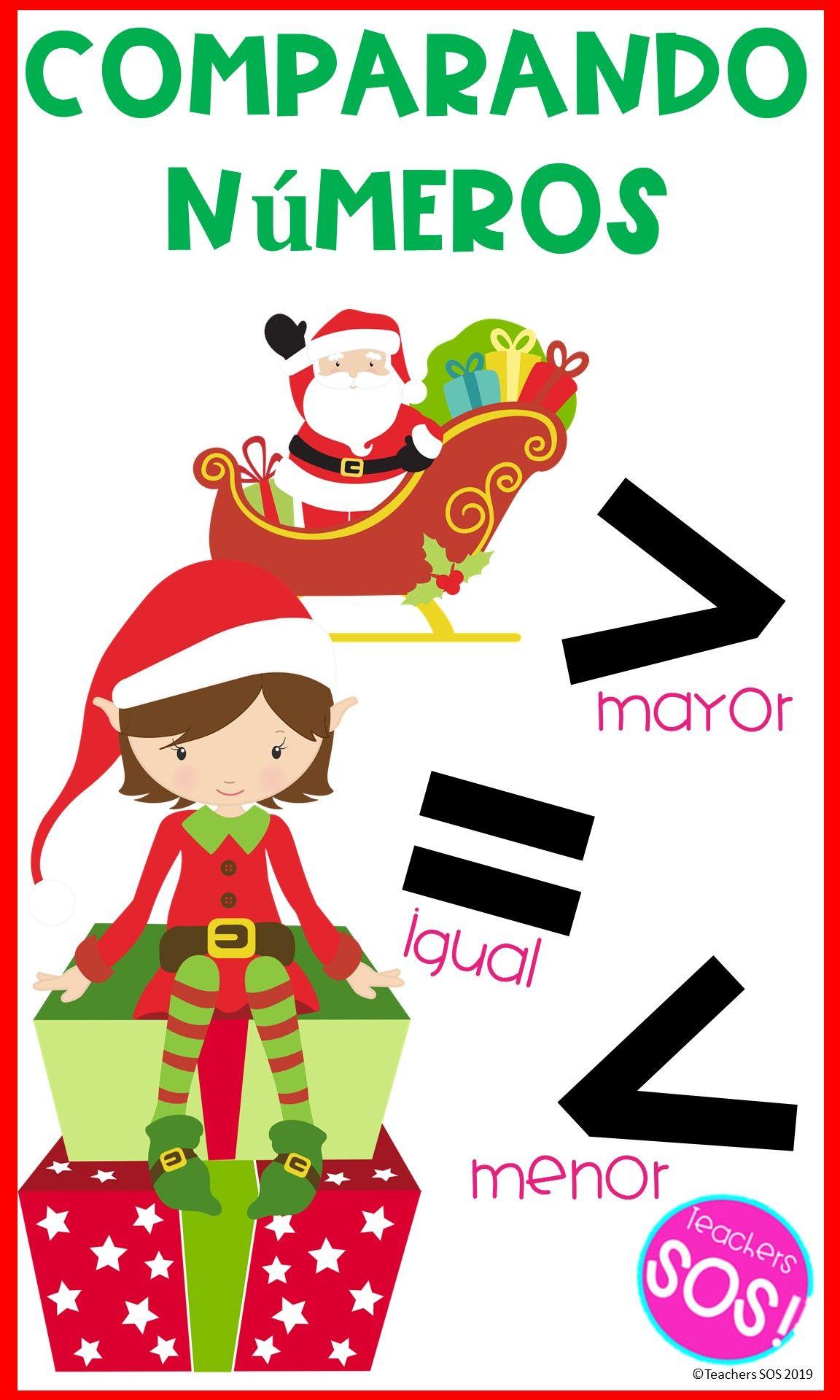 Comparando Numeros De Dos Digitos Navidad