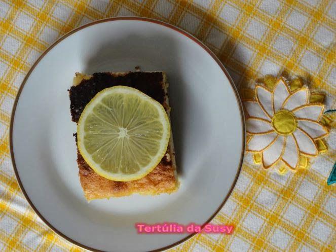 Bolo mágico de baunilha e limão http://tertuliadasusy.blogspot.pt/2014/02/bolo-magico-de-baunilha-e-limao.html