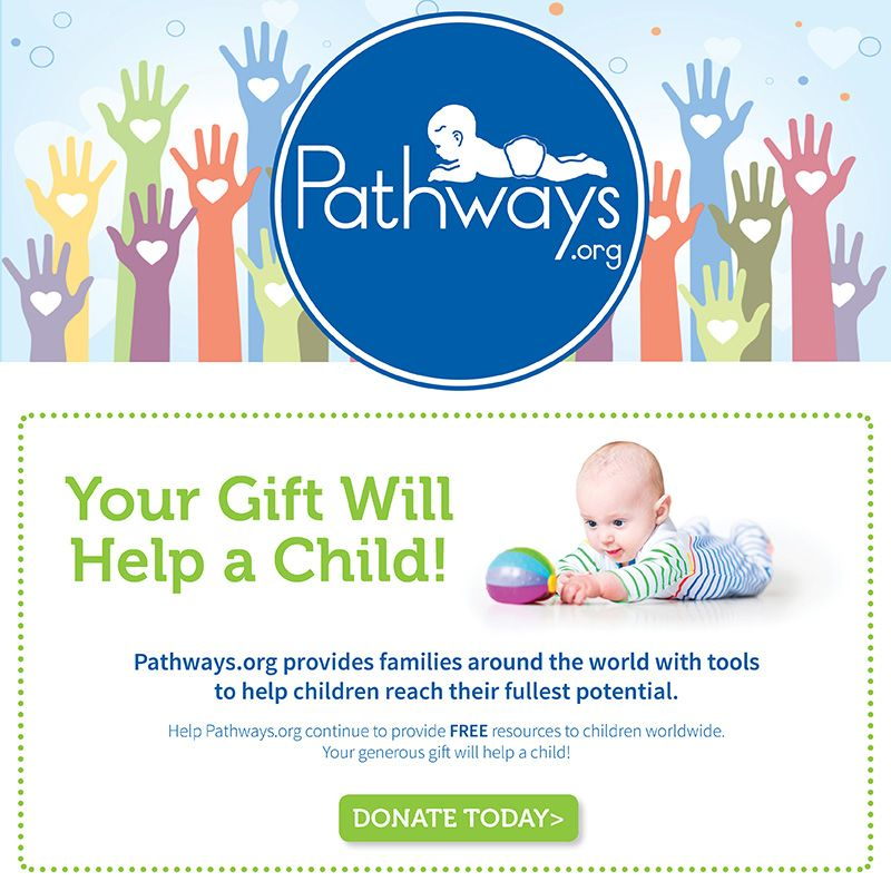 Support Pathways.org's mission of helping all children reach their fullest potential. Help a child today!