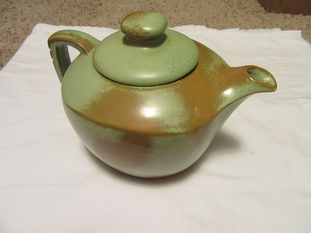 Frankoma Pottery 5tl Teapot With Lid Rare Art Collectible Tea Pots Pottery Vintage Pottery