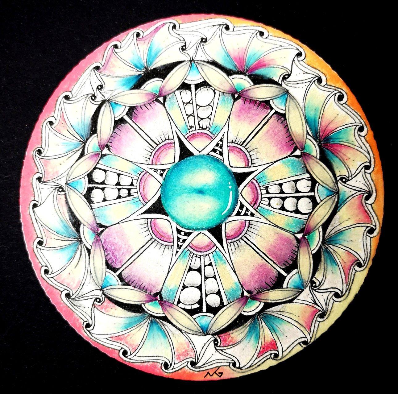 Pin On Radial Balance Mandala