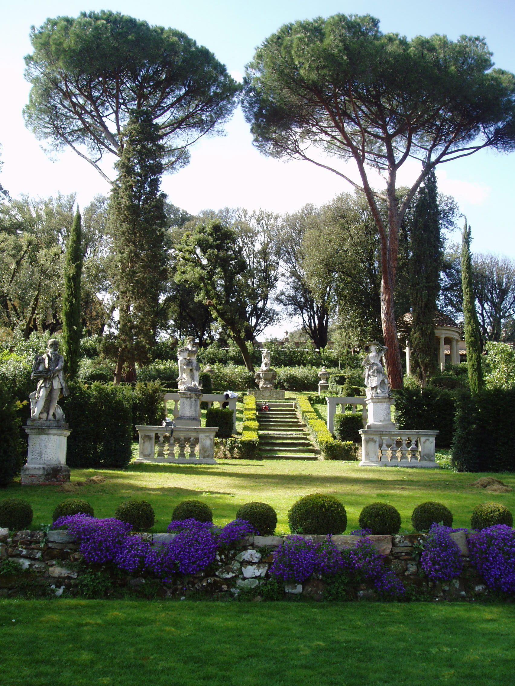 Villa La Pietra Garden Teatrino Florence Jardin Italiano Diseno De Jardin Italia