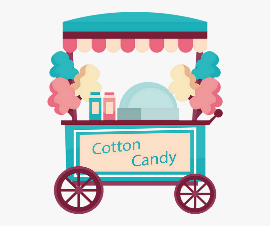 Cotton Candy Cart Clipart Png Free Unlimited Download On Clipartwiki To Search And Explore More Related Png Clipar Candy Drawing Cotton Candy Murals For Kids