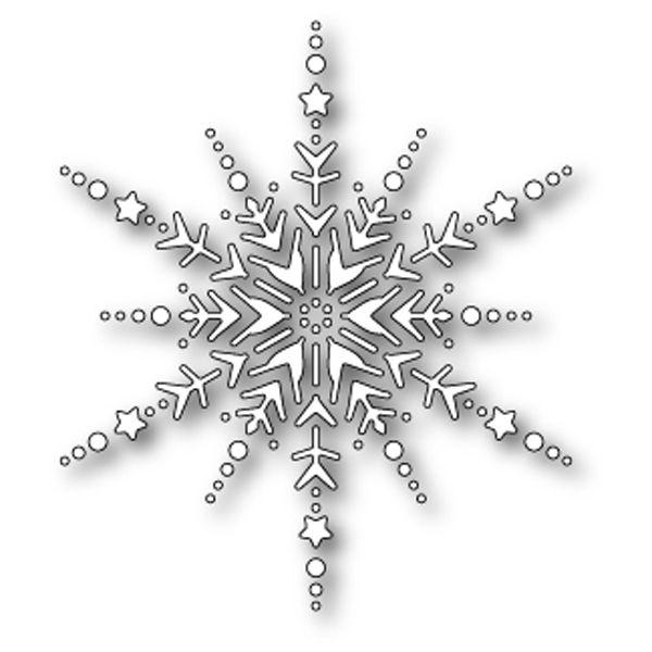 Outil de découpe DAZZLING SNOWFLAKE