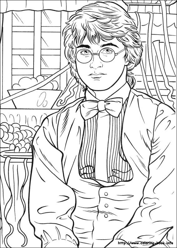 Harry Potter Coloring Page Harry Potter Colors Harry Potter Coloring Pages Harry Potter Coloring Book