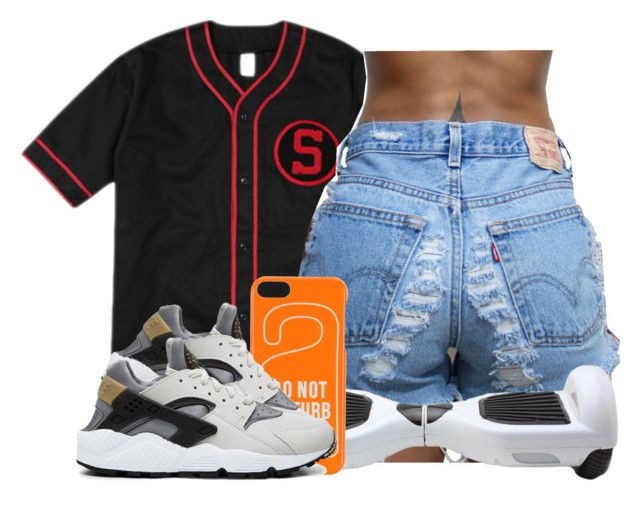 """""""Saturday """" by romanreignsapproved on Polyvore featuring Dsquared2 and NIKE"""