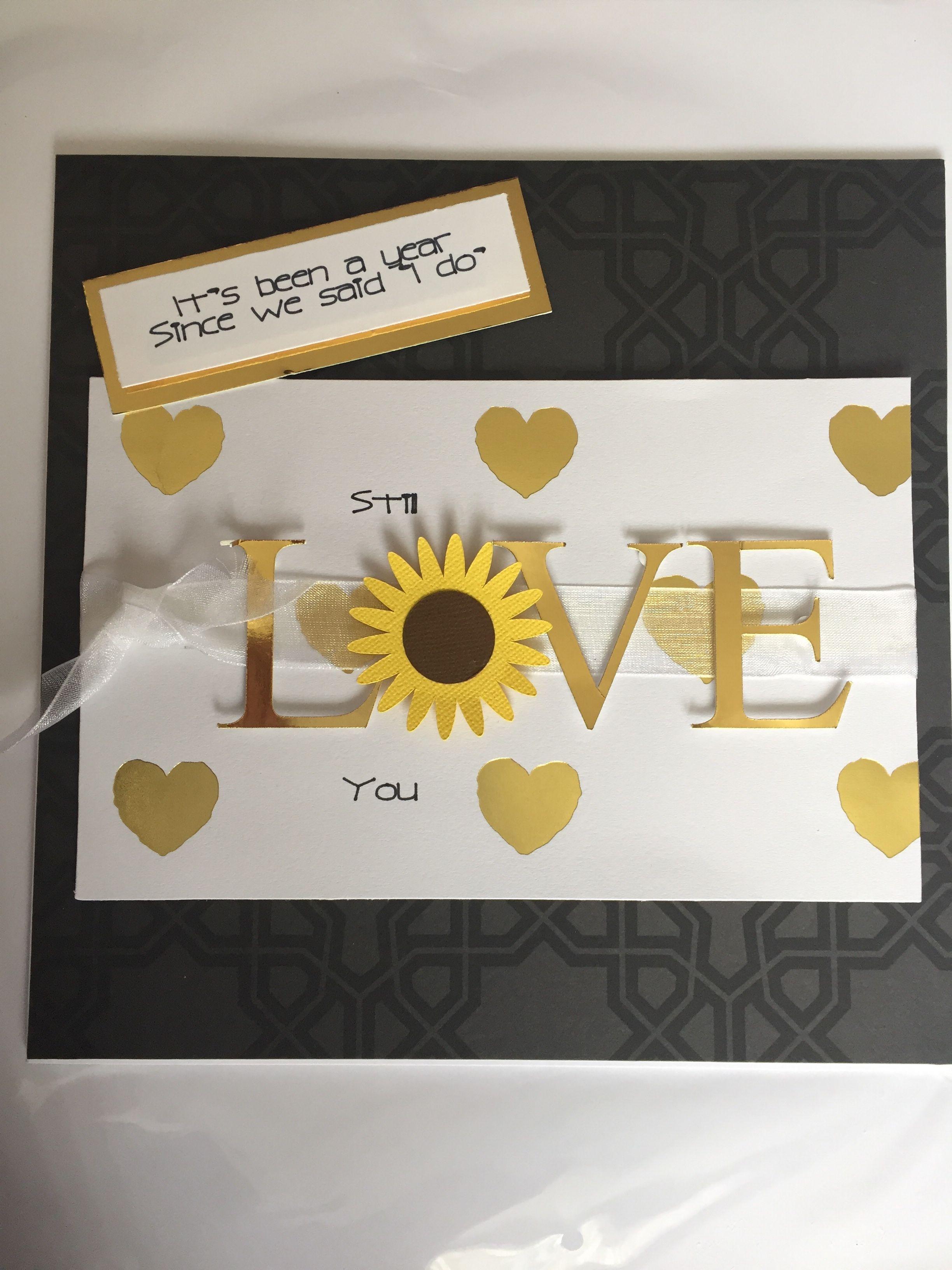 1st wedding anniversary card 1st anniversary cards