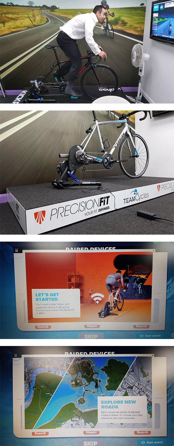 Curious on zwift & indoor training? We have a dedicated demo