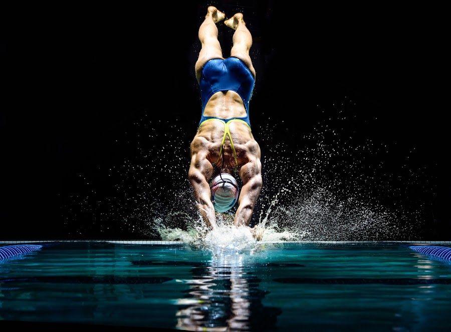 Olympic Gold Medalist Breeja Larson by Jim Harmer Sports